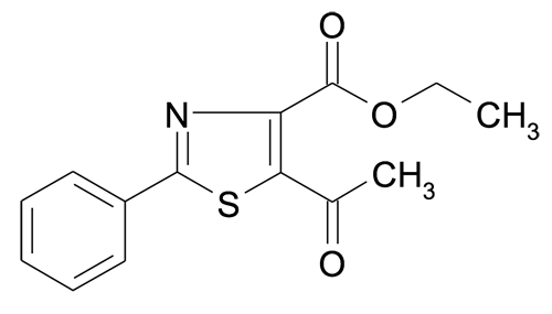 Ethyl 5-acetyl-2-phenylthiazole-4-carboxylate
