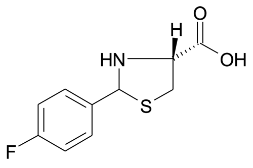 (R)-2-(4-Fluorophenyl)thiazolidine-4-carboxylic acid