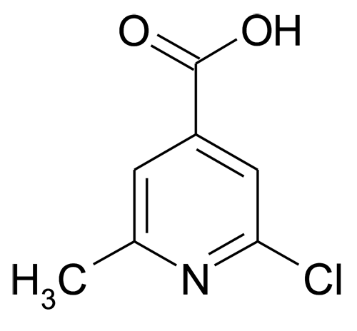 2-Chloro-6-methyl-isonicotinic acid
