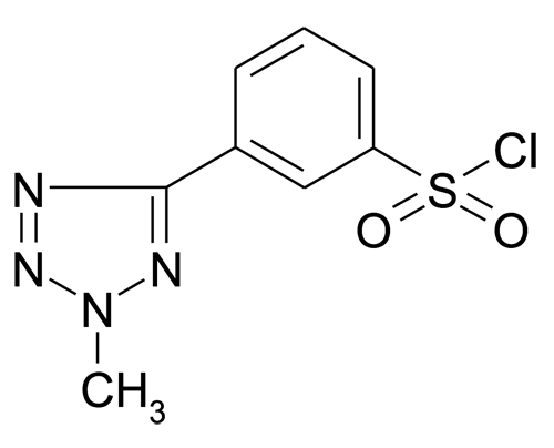 3-(2-Methyl-2H-tetrazol-5-yl)-benzenesulfonyl chloride