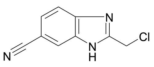 150613-50-6 | MFCD08234907 | 2-Chloromethyl-3H-benzoimidazole-5-carbonitrile | acints