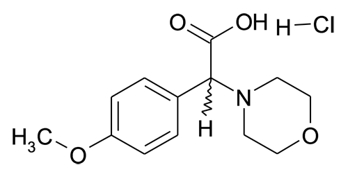 (4-Methoxy-phenyl)-morpholin-4-yl-acetic acid; hydrochloride