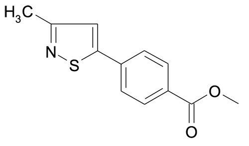 4-(3-Methyl-isothiazol-5-yl)-benzoic acid methyl ester