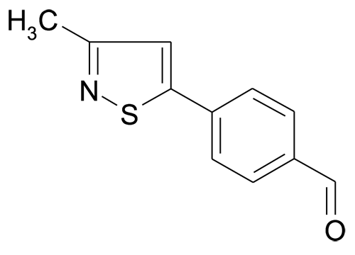 4-(3-Methyl-isothiazol-5-yl)-benzaldehyde