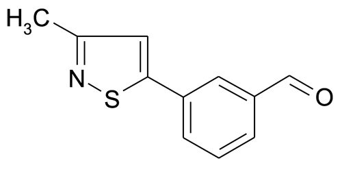 3-(3-Methyl-isothiazol-5-yl)-benzaldehyde