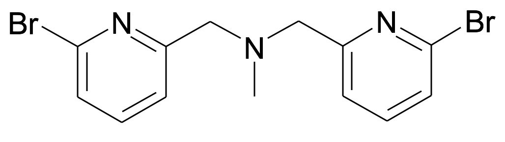 Bis-(6-bromo-pyridin-2-ylmethyl)-methyl-amine