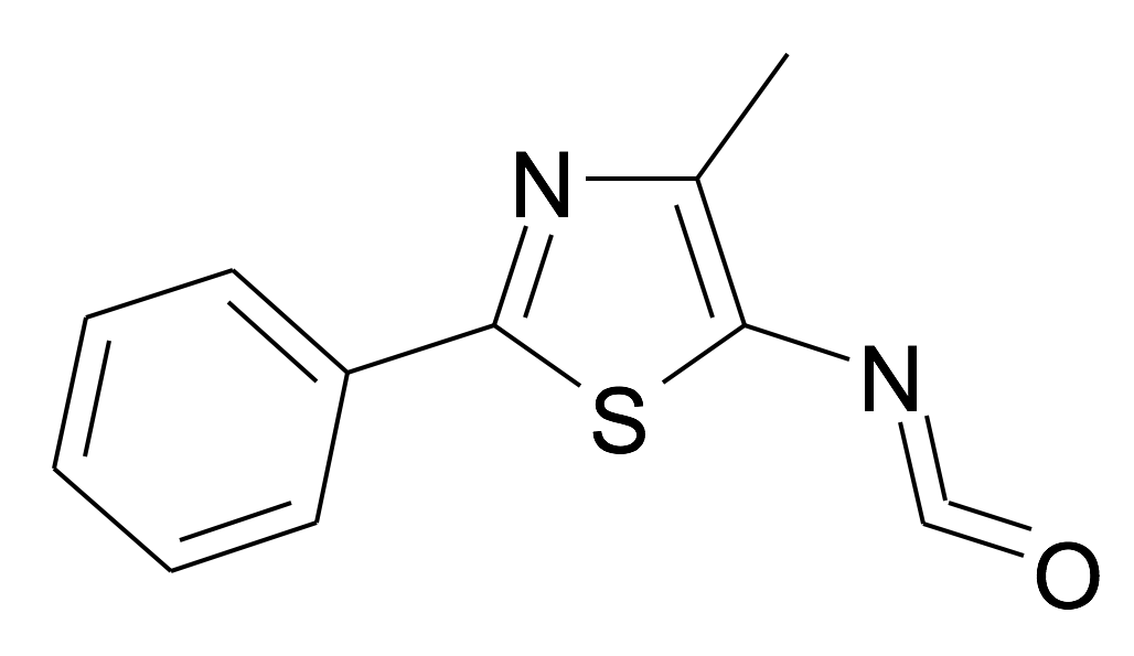 5-Isocyanato-4-methyl-2-phenyl-thiazole
