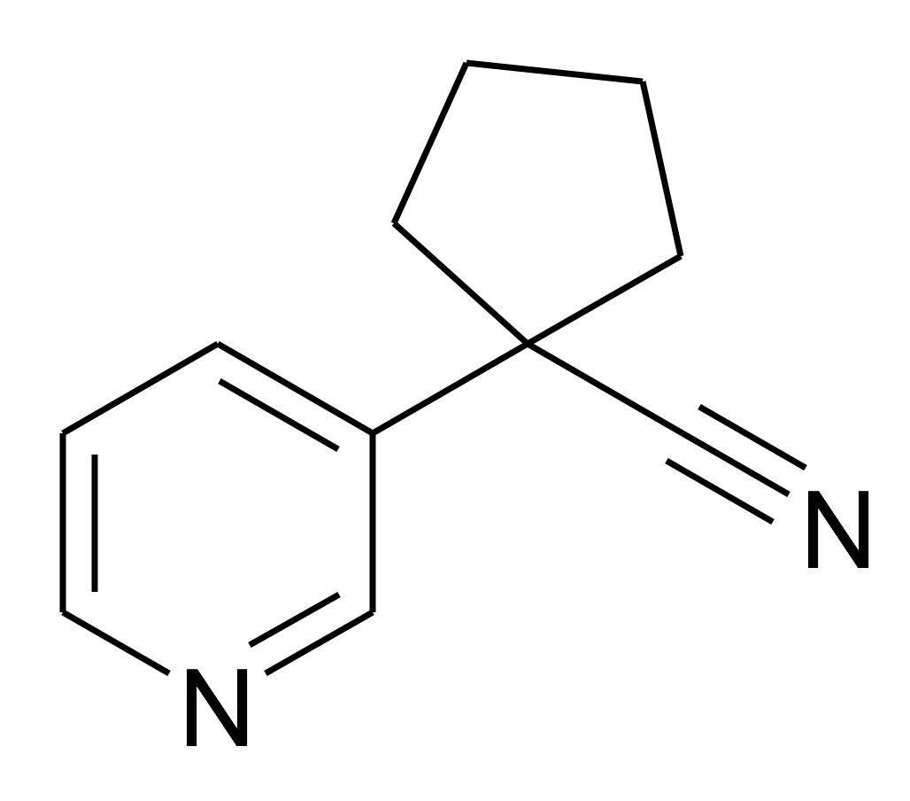 1-Pyridin-3-yl-cyclopentanecarbonitrile