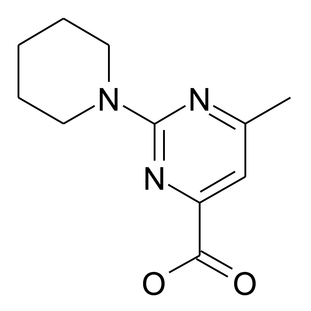 6-Methyl-2-piperidin-1-yl-pyrimidine-4-carboxylic acid