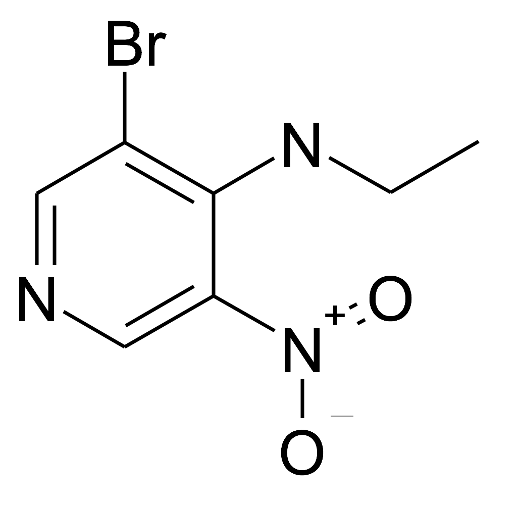 (3-Bromo-5-nitro-pyridin-4-yl)-ethyl-amine
