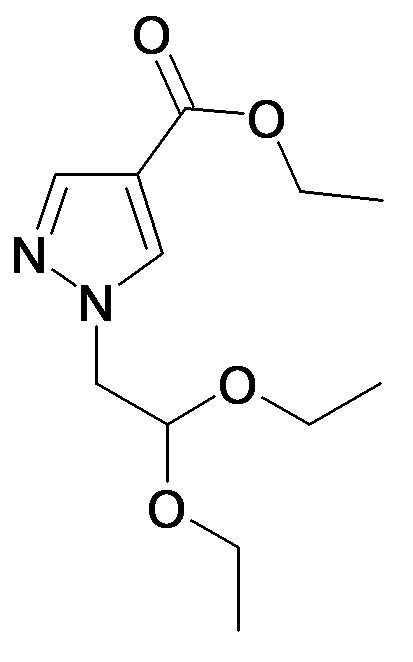1-(2,2-Diethoxy-ethyl)-1H-pyrazole-4-carboxylic acid ethyl ester