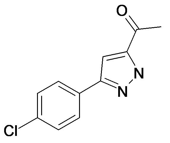 1-[5-(4-Chloro-phenyl)-2H-pyrazol-3-yl]-ethanone