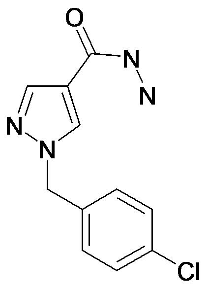1-(4-Chloro-benzyl)-1H-pyrazole-4-carboxylic acid hydrazide