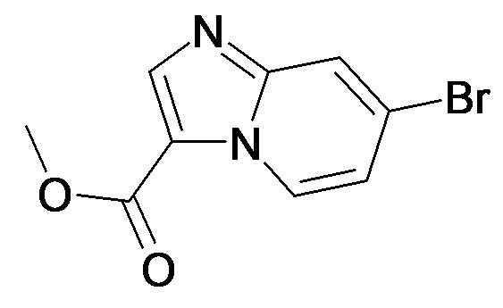 7-Bromo-imidazo[1,2-a]pyridine-3-carboxylic acid methyl ester
