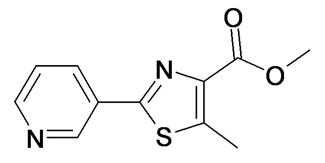 5-Methyl-2-pyridin-3-yl-thiazole-4-carboxylic acid methyl ester