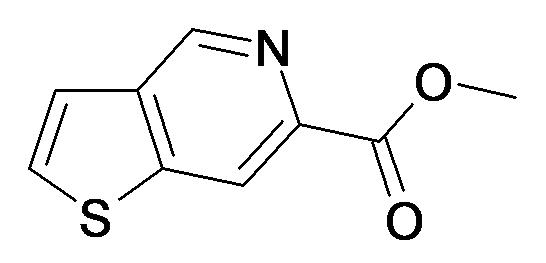 Thieno[3,2-c]pyridine-6-carboxylic acid methyl ester