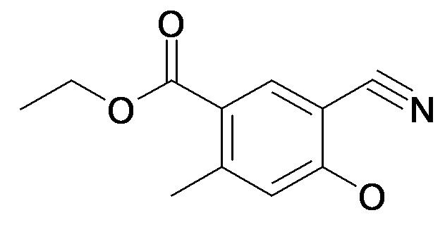 5-Cyano-4-hydroxy-2-methyl-benzoic acid ethyl ester