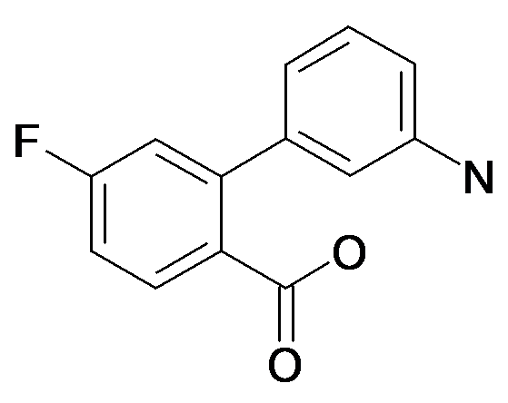 2-(3-Aminophenyl)-4-fluorobenzoic acid