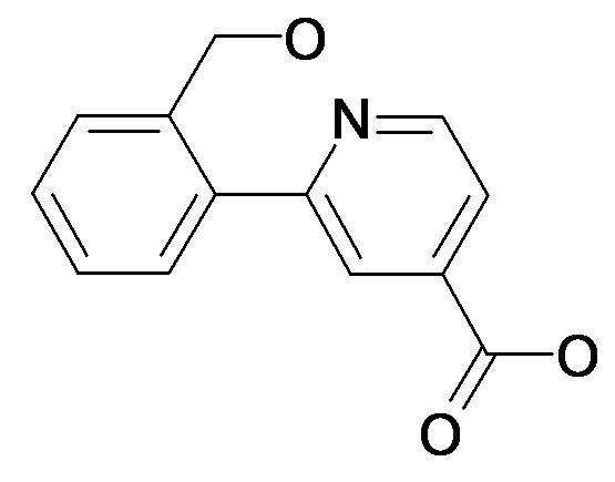 2-(2-Hydroxymethyl-phenyl)-isonicotinic acid