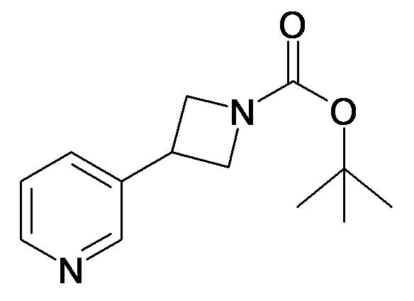 3-Pyridin-3-yl-azetidine-1-carboxylic acid tert-butyl ester
