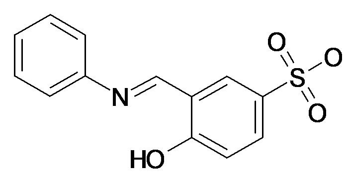 4-Hydroxy-3-((E)-2-phenylamino-vinyl)-benzenesulfonic acid