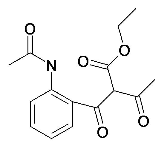 2-(2-Acetylamino-benzoyl)-3-oxo-butyric acid ethyl ester