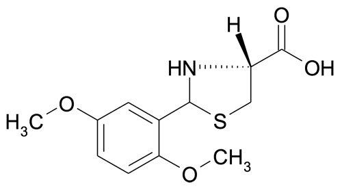 MFCD10568299 | (R)-2-(2,5-Dimethoxyphenyl)thiazolidine-4-carboxylic acid | acints