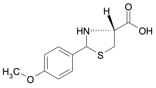 (R)-2-(4-Methoxyphenyl)thiazolidine-4-carboxylic acid