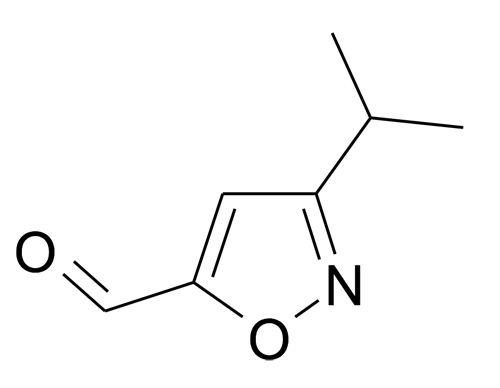 3-Isopropyl-isoxazole-5-carbaldehyde