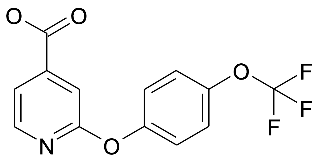 2-(4-Trifluoromethoxy-phenoxy)-isonicotinic acid