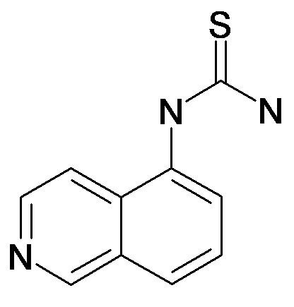 Isoquinolin-5-yl-thiourea