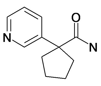 1-Pyridin-3-yl-cyclopentanecarboxylic acid amide