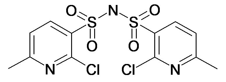 Bis-2-chloro-6-methylpyridinesulphonamide