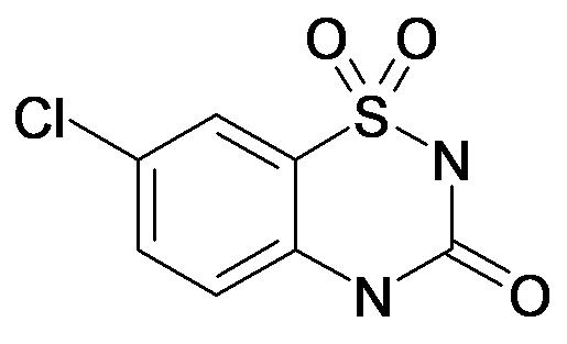 7-CHLORO-2H-BENZO[E][1,2,4]THIADIAZIN-3(4H)-ONE 1,1-DIOXIDE