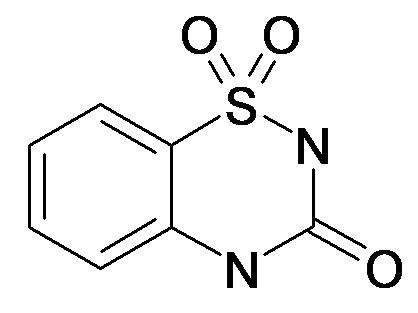 1,1-Dioxo-1,4-dihydro-2H-1lambda*6*-benzo[1,2,4]thiadiazin-3-one