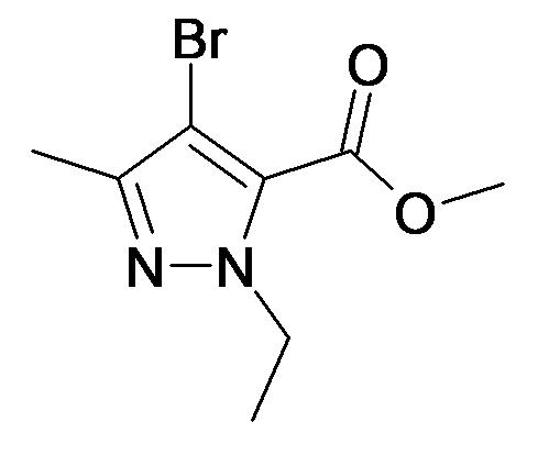 4-Bromo-2-ethyl-5-methyl-2H-pyrazole-3-carboxylic acid methyl ester