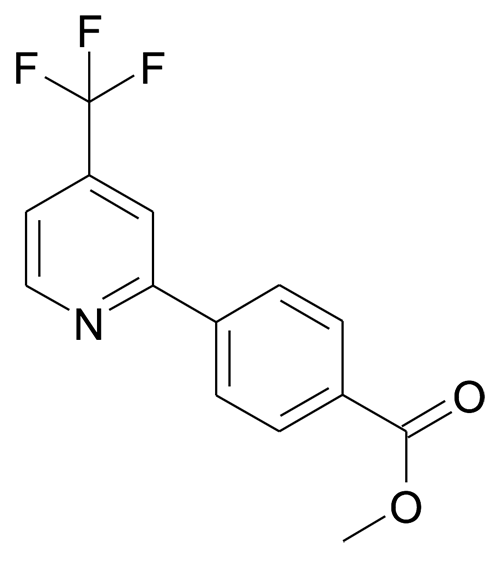4-(4-Trifluoromethyl-pyridin-2-yl)-benzoic acid methyl ester
