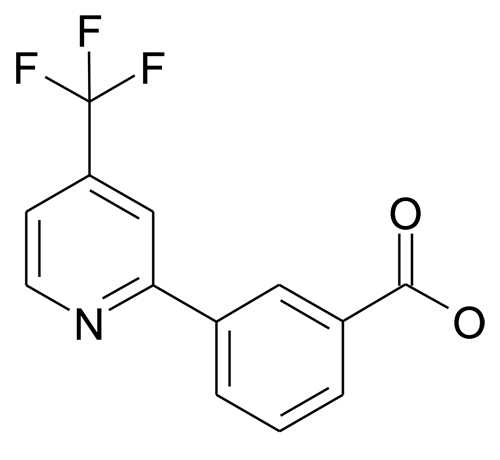 3-(4-Trifluoromethyl-pyridin-2-yl)-benzoic acid