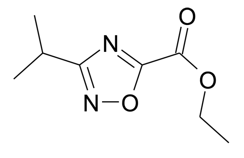 3-Isopropyl-[1,2,4]oxadiazole-5-carboxylic acid ethyl ester