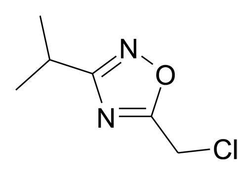 5-Chloromethyl-3-isopropyl-[1,2,4]oxadiazole