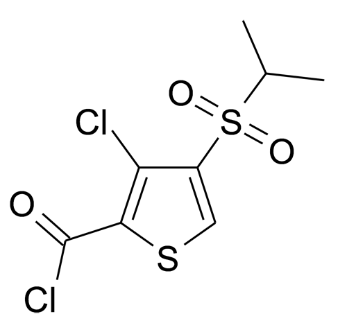3-Chloro-4-(propane-2-sulfonyl)-thiophene-2-carbonyl chloride