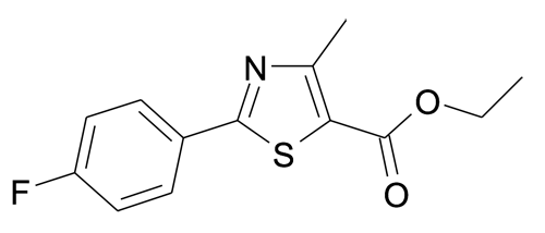 2-(4-Fluoro-phenyl)-4-methyl-thiazole-5-carboxylic acid ethyl ester