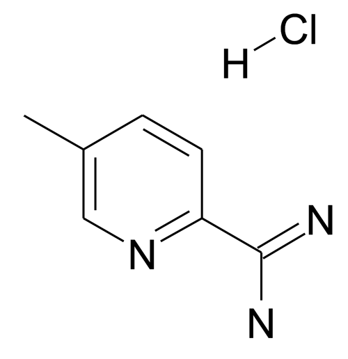 5-Methyl-pyridine-2-carboxamidine; hydrochloride