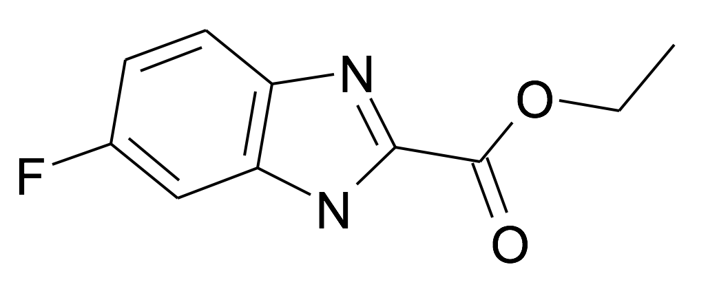 MFCD28947646 | 6-Fluoro-1H-benzoimidazole-2-carboxylic acid ethyl ester | acints