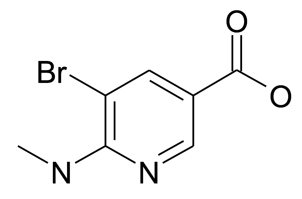 5-Bromo-6-methylamino-nicotinic acid