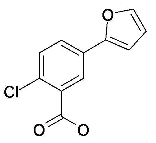 2-Chloro-5-furan-2-yl-benzoic acid