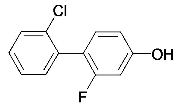 4-(2-CHLOROPHENYL)-3-FLUOROPHENOL