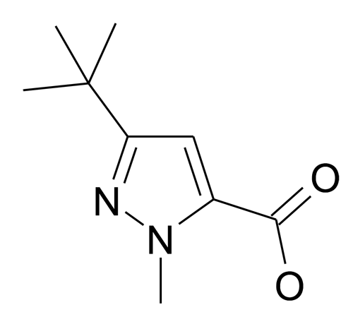 175277-11-9 | MFCD00173812 | 5-tert-Butyl-2-methyl-2H-pyrazole-3-carboxylic acid | acints