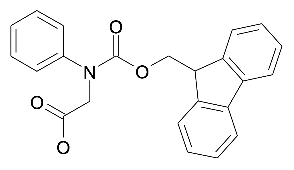 [(9H-Fluoren-9-ylmethoxycarbonyl)-phenyl-amino]-acetic acid