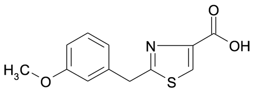 2-(3-Methoxybenzyl)thiazole-4-carboxylic acid